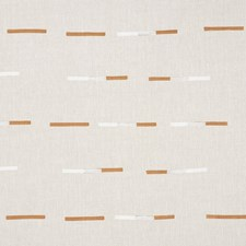 Brown/White Drapery and Upholstery Fabric by Schumacher
