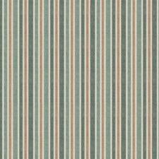 Peacock Stripes Drapery and Upholstery Fabric by Trend