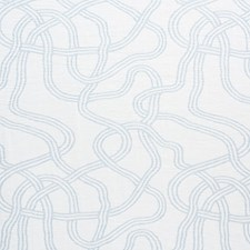 Light Blue Drapery and Upholstery Fabric by Schumacher