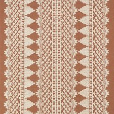 Rust Drapery and Upholstery Fabric by Schumacher