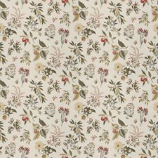 Botanical Floral Drapery and Upholstery Fabric by Fabricut