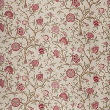 Vintage Rose Floral Drapery and Upholstery Fabric by Fabricut