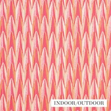 Pink/Orange Drapery and Upholstery Fabric by Schumacher