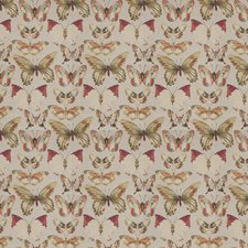 Butterfly Animal Drapery and Upholstery Fabric by Trend