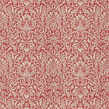Coral Print Pattern Drapery and Upholstery Fabric by Trend