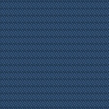 Navy Diamond Drapery and Upholstery Fabric by Trend
