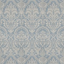 Wedgwood Print Pattern Drapery and Upholstery Fabric by Vervain