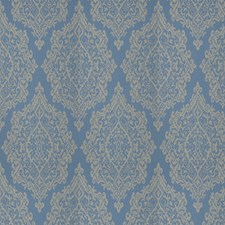 Delft Medallion Drapery and Upholstery Fabric by Fabricut