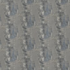 Bluedream Geometric Drapery and Upholstery Fabric by Stroheim