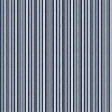 Indigo Stripes Drapery and Upholstery Fabric by Fabricut