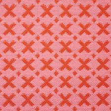 Pink/amp/Red Drapery and Upholstery Fabric by Schumacher