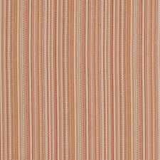 Persimmon Stripes Drapery and Upholstery Fabric by Fabricut