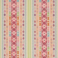 Pink Multi Drapery and Upholstery Fabric by Schumacher