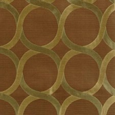 Sage/brown Drapery and Upholstery Fabric by Highland Court