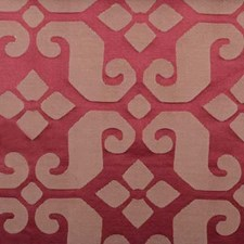 Chilipepper Geometric Drapery and Upholstery Fabric by Highland Court