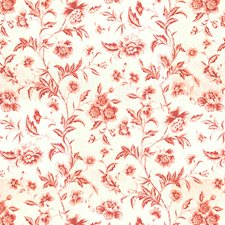 Pink Botanical Drapery and Upholstery Fabric by Brunschwig & Fils