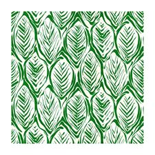 Green Tropical Drapery and Upholstery Fabric by Brunschwig & Fils