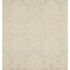 Platnium Damask Drapery and Upholstery Fabric by Brunschwig & Fils
