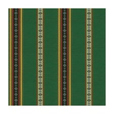 Vert Stripes Drapery and Upholstery Fabric by Brunschwig & Fils
