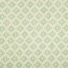 Aqua Diamond Drapery and Upholstery Fabric by Brunschwig & Fils