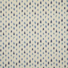 Porcelain Ikat Drapery and Upholstery Fabric by Brunschwig & Fils