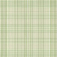 Celery Plaid Drapery and Upholstery Fabric by Brunschwig & Fils
