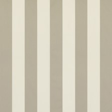 Gray Stripes Drapery and Upholstery Fabric by Brunschwig & Fils