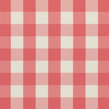 Pink Plaid Drapery and Upholstery Fabric by Brunschwig & Fils