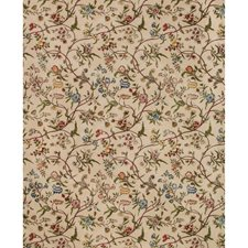 Spice Botanical Drapery and Upholstery Fabric by Brunschwig & Fils