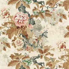 Browns Print Drapery and Upholstery Fabric by Lee Jofa