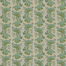 Peacock Embroidery Drapery and Upholstery Fabric by Stroheim