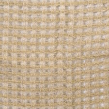 Jute Lattice Drapery and Upholstery Fabric by S. Harris