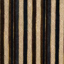 Navy Stripes Drapery and Upholstery Fabric by S. Harris