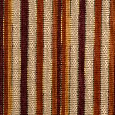 Spice Stripes Drapery and Upholstery Fabric by S. Harris