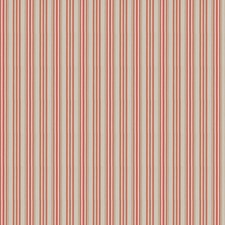 Coral Stripes Drapery and Upholstery Fabric by Stroheim