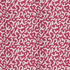 Fuchsia Geometric Drapery and Upholstery Fabric by Stroheim