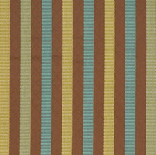 Mocha Stripes Drapery and Upholstery Fabric by S. Harris