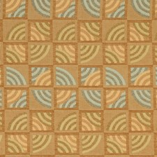 Spruce Geometric Drapery and Upholstery Fabric by S. Harris