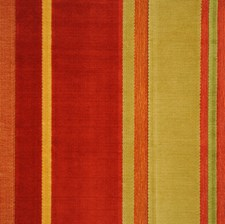 Kiwi Berry Stripes Drapery and Upholstery Fabric by S. Harris