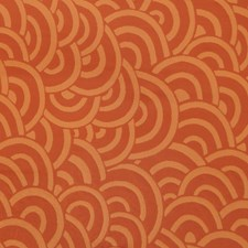 Mandarin Flamestitch Drapery and Upholstery Fabric by S. Harris
