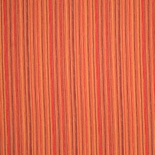 Coral Geometric Drapery and Upholstery Fabric by S. Harris