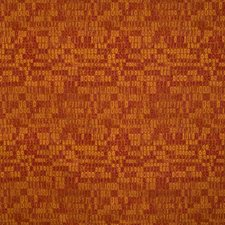 Beet Geometric Drapery and Upholstery Fabric by S. Harris