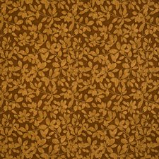 Copper Jacquard Pattern Drapery and Upholstery Fabric by S. Harris