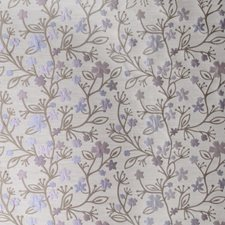 Lavender Floral Drapery and Upholstery Fabric by S. Harris