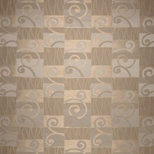 Oro Geometric Drapery and Upholstery Fabric by S. Harris