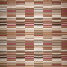 Papaya Punch Geometric Drapery and Upholstery Fabric by S. Harris