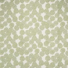 Mint Julep Floral Drapery and Upholstery Fabric by S. Harris
