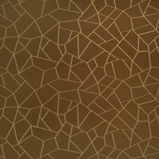Chocolate Bar Geometric Drapery and Upholstery Fabric by S. Harris