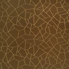 Chocolate Bar Geometric Drapery and Upholstery Fabric by S. Harris