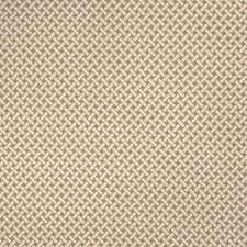 Oak Geometric Drapery and Upholstery Fabric by S. Harris